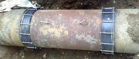 Реновация водопровода во г. Екатеринбург